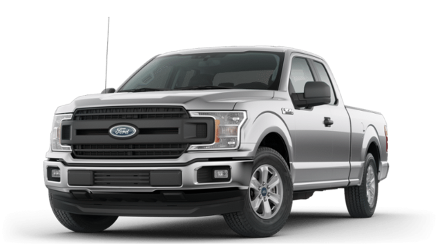 2019 Ford F-150 4X2 Supercab Pickup Extended Cab Pickup RWD
